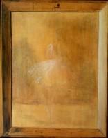 Cadre bois et esquisse - Trompe-l'oeil - 32 x 40 >>> 1997