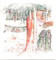 L'abbaye - Transfert - 19 x 19 >>> 2015