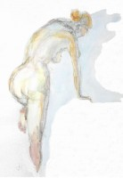 Nu Atelier libre - Aquarelle - 30 x 41 >>> 2004