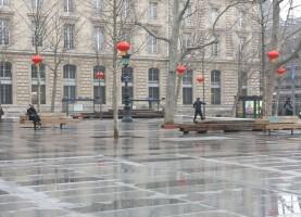 Place de la République - Paris - février 2015