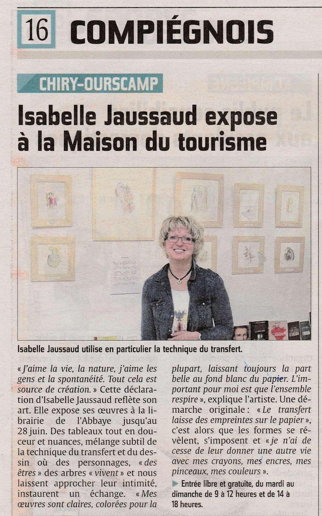 Revue de presse exposition Ourscamp