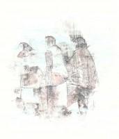 Dans le brouillard  - Transfert - 21 x 28 >>> 2015