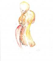 Élégante maternité - Transfert - 19 x 19 >>> 2014