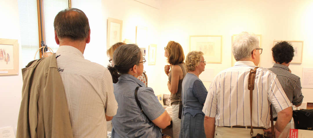 Vernissage exposition Abbaye d'Ourscamp 13 juin 2015