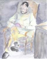 Michel - Aquarelle - 24 x 32 >>> 2002