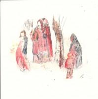 Maternité - Ensemble -Transfert - 19 x 19 >>> 2015